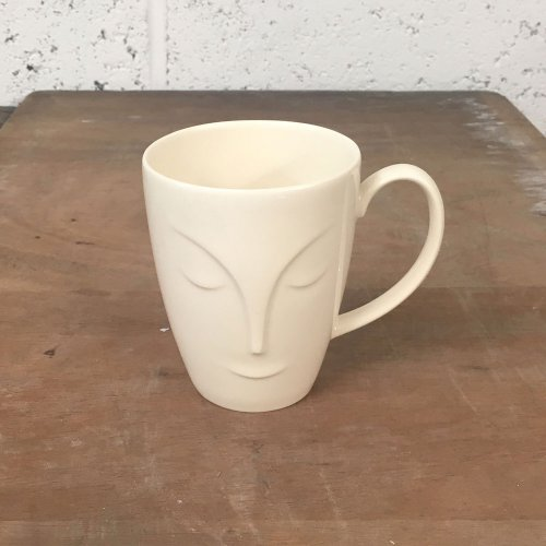 WAREHOUSE SALE! LARGE ABOUT FACE MUG