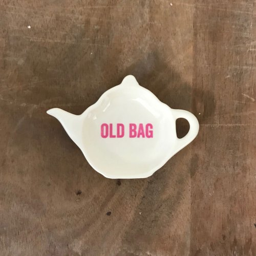 WAREHOUSE SALE! OLD BAG TEABAG TIDY/VENEER TYPE