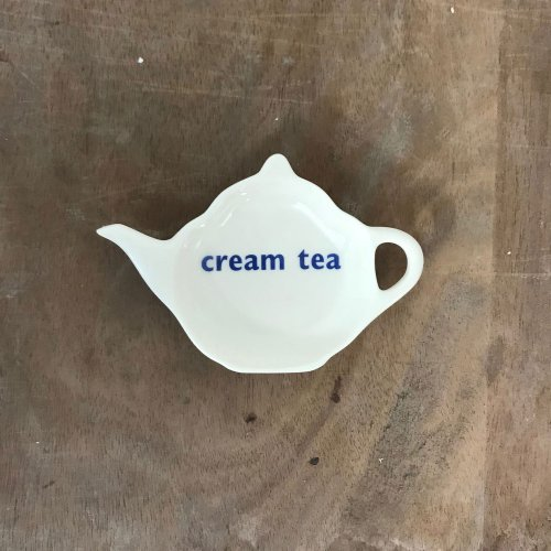 WAREHOUSE SALE! CREAM TEA TEABAG TIDY