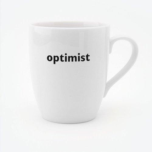 OPTIMIST MUG