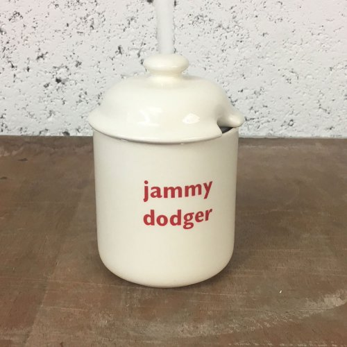 WAREHOUSE SALE! JAMMY DODGER PRESERVE POT