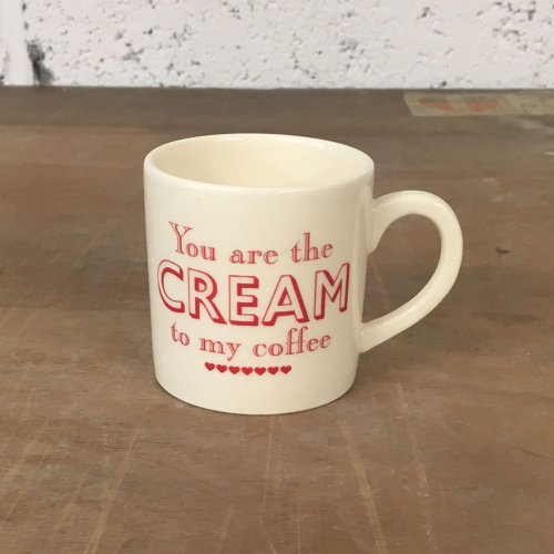 WAREHOUSE SALE!  YOU ARE THE CREAM ESPRESSO CUP