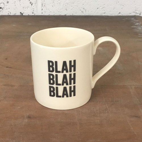 WAREHOUSE SALE! BLAH BLAH BLAH STRAIGHT MUG