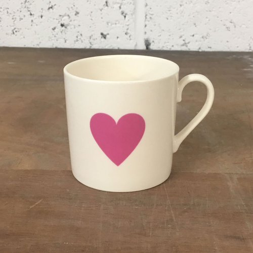 WAREHOUSE SALE! PINK HEART CHILD'S MUG