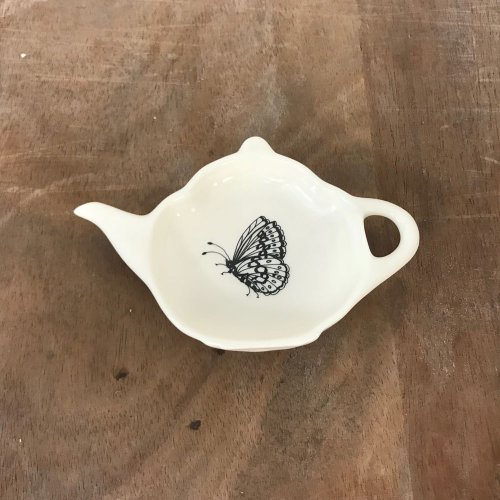 WAREHOUSE SALE! MODERN BOTANICALS FRITILLARY TEA BAG TIDY
