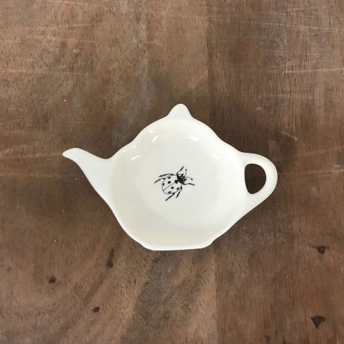 WAREHOUSE SALE! MODERN BOTANICALS LADYBIRD TEA BAG TIDY