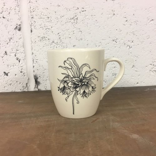 WAREHOUSE SALE! FRITILLARY FLOWER MUG