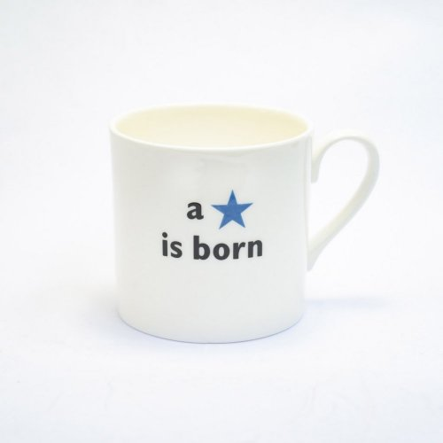 A STAR IS BORN BLUE CHILDS MUG