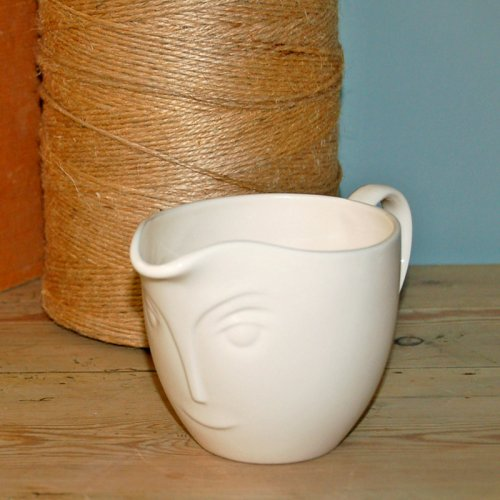 SALE! ABOUT FACE CREAM JUG
