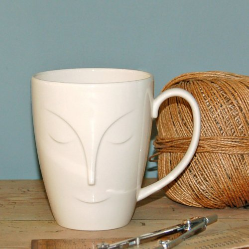 SALE! LARGE ABOUT FACE MUG