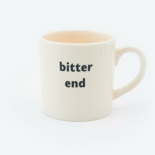 BITTER END ESPRESSO CUP