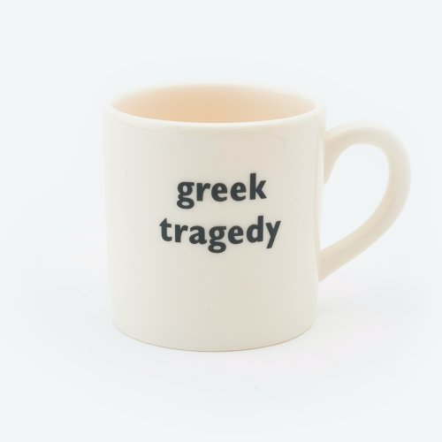 GREEK TRAGEDY ESPRESSO CUP