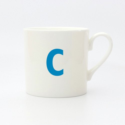 ALPHABET CUSTOMISE SMALL MUG