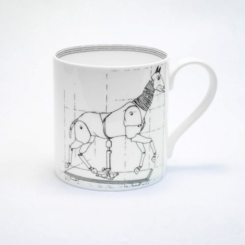 ARTICULATED HORSE MUG