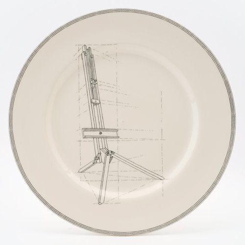 EASEL SERVING PLATTER