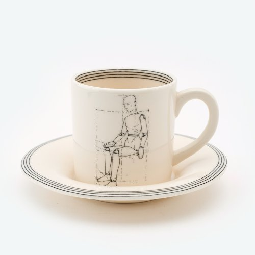 MODAL FRONT ESPRESSO CUP & SAUCER