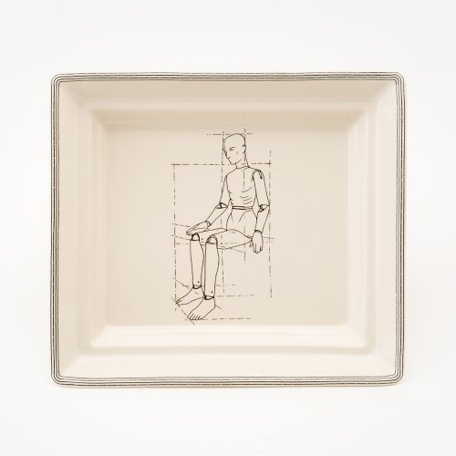 MODEL SITTING HALL TRAY