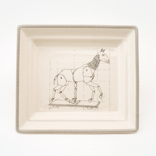 ARTICULATED HORSE HALL TRAY