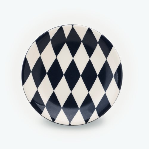 BLACK HARLEQUIN - SMALL PLATE