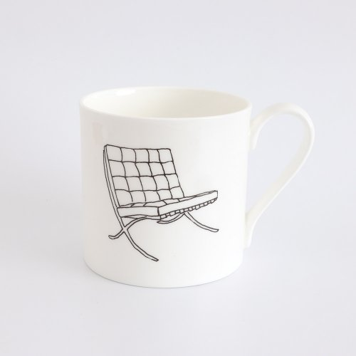 BARCELONA CHAIR HALF PINT MUG