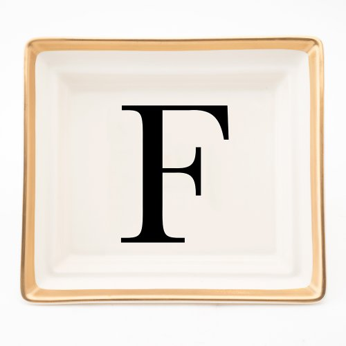 BASKERVILLE LETTER F HALL TRAY