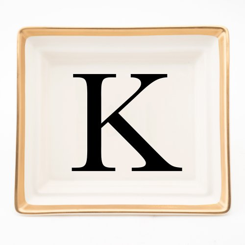 BASKERVILLE LETTER K HALL TRAY