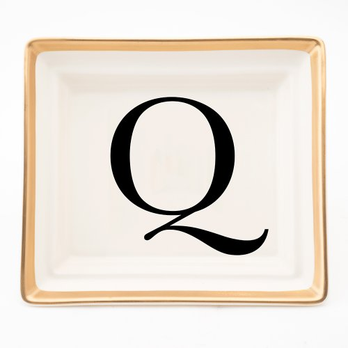 BASKERVILLE LETTER Q HALL TRAY