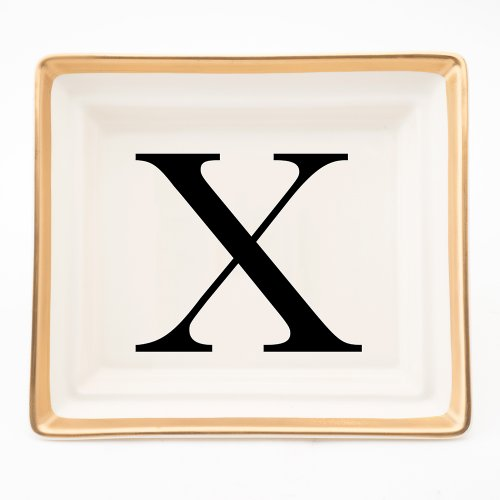 BASKERVILLE LETTER X HALL TRAY