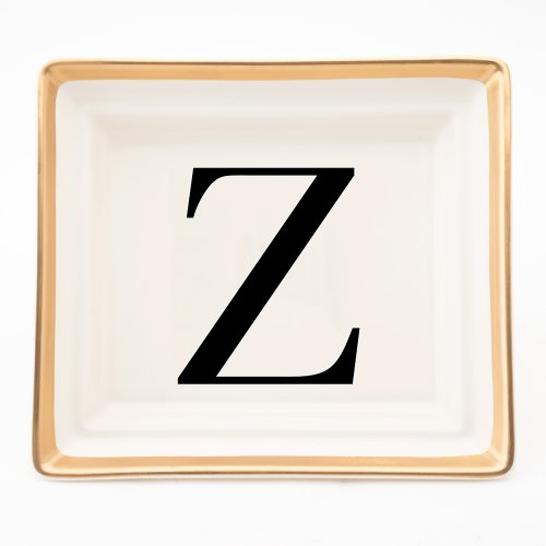 BASKERVILLE LETTER Z HALL TRAY