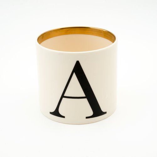 BASKERVILLE LETTER A SMALL PEN POT