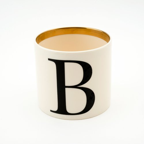 BASKERVILLE LETTER B SMALL PEN POT