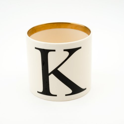 BASKERVILLE LETTER K SMALL PEN POT