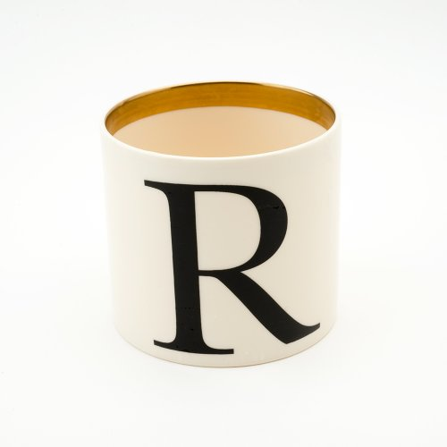 BASKERVILLE LETTER R SMALL PEN POT