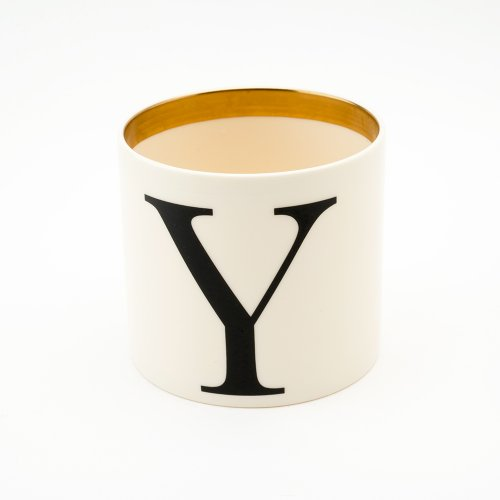 BASKERVILLE LETTER Y SMALL PEN POT
