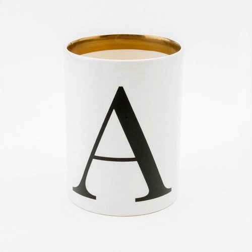 BASKERVILLE LETTER A LARGE PEN POT