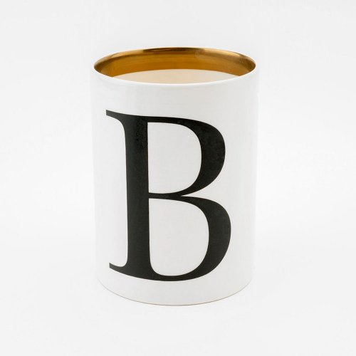 BASKERVILLE LETTER B LARGE PEN POT