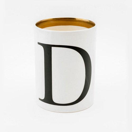 BASKERVILLE LETTER D LARGE PEN POT