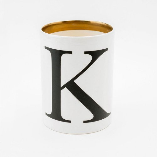 BASKERVILLE LETTER K LARGE PEN POT