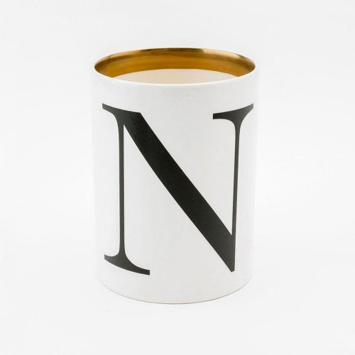 BASKERVILLE LETTER N LARGE PEN POT