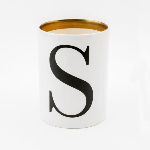 BASKERVILLE LETTER S LARGE PEN POT