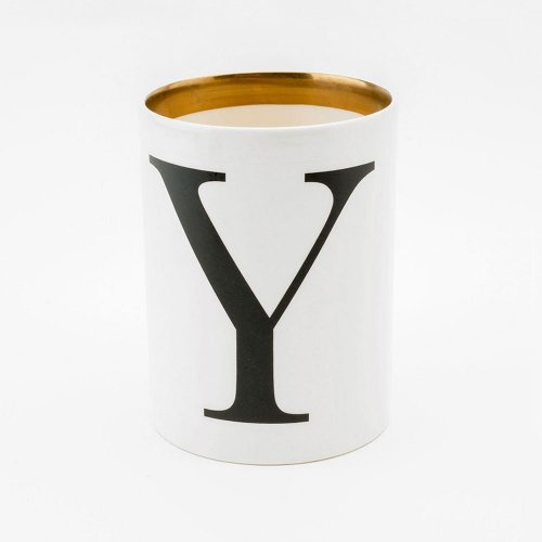 BASKERVILLE LETTER Y LARGE PEN POT