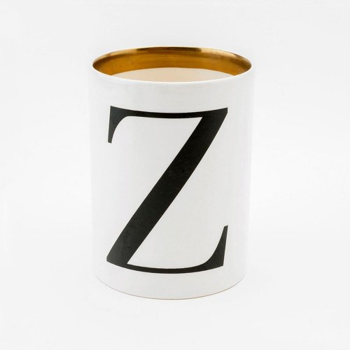 BASKERVILLE LETTER Z LARGE PEN POT