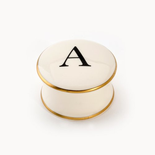 BASKERVILLE LETTER A TRAVEL CANDLE