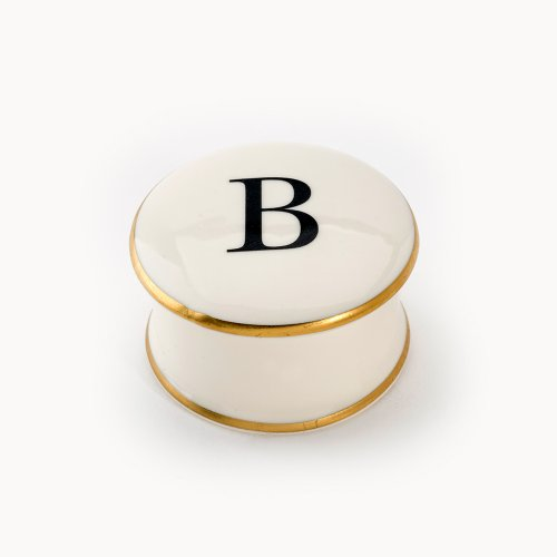 BASKERVILLE LETTER B TRAVEL CANDLE