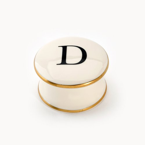 BASKERVILLE LETTER D TRAVEL CANDLE