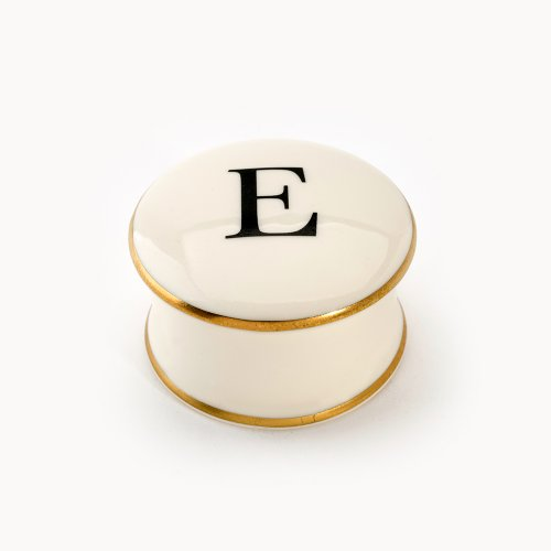 BASKERVILLE LETTER E TRAVEL CANDLE