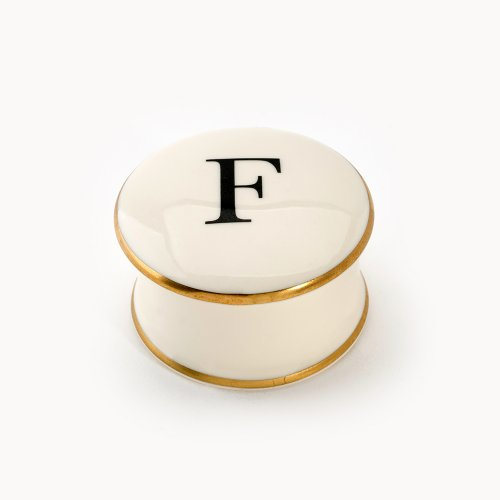BASKERVILLE LETTER F TRAVEL CANDLE