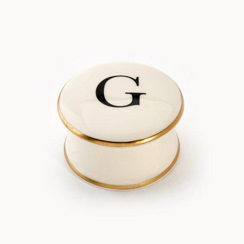 BASKERVILLE LETTER G TRAVEL CANDLE