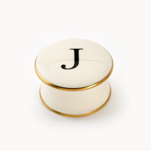 BASKERVILLE LETTER J TRAVEL CANDLE