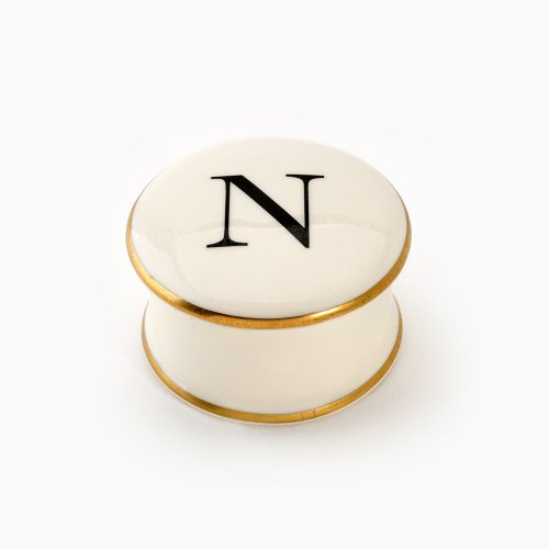 BASKERVILLE LETTER N TRAVEL CANDLE
